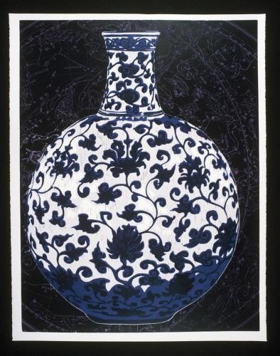 Ming Vase » Woodcut